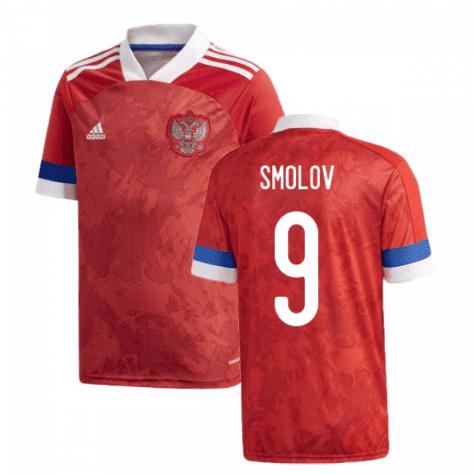Футболка Сборной России Смолов 9 Евро 2020
