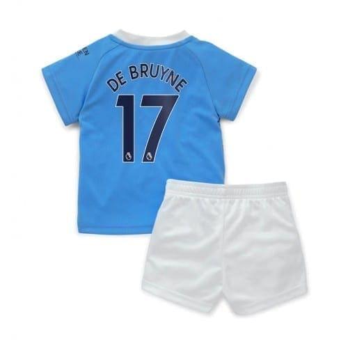 Детская форма Манчестер Сити 2020-2021 Де Брюйне