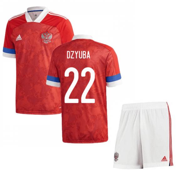 Футбольная форма Россия Дзюба 22 Евро 2020