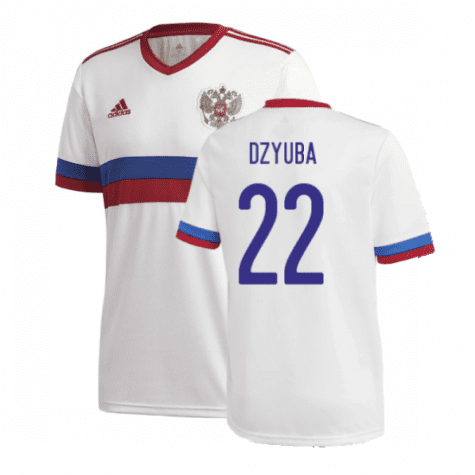 Гостевая футболка Дзюба Россия Евро 2020