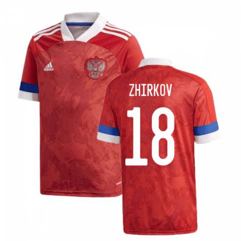 Футболка Сборной России Жирков 18 Евро 2020