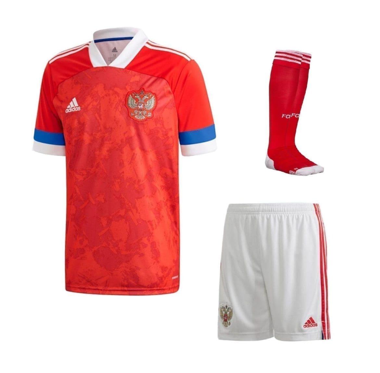 Домашняя футбольная форма Россия Дзюба купить