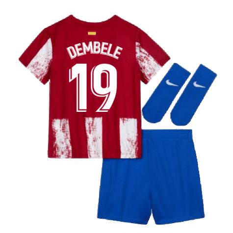 Детская форма Атлетико Мадрид 2021-2022 Дембеле 19