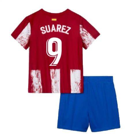 Детская форма Атлетико Мадрид 2021-2022 Суарес 9