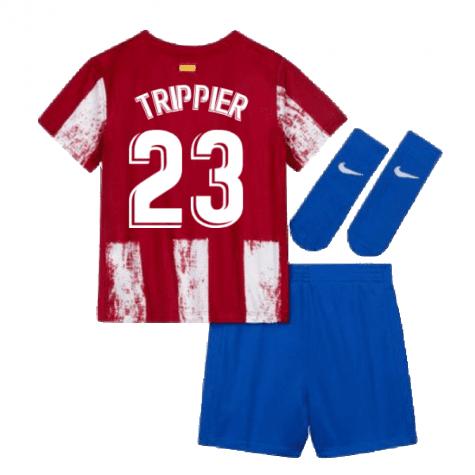 Детская форма Атлетико Мадрид 2021-2022 Трипьер 23 с гетрами