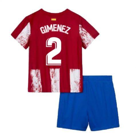 Детская форма Атлетико Мадрид 2021-2022 Хименес 2