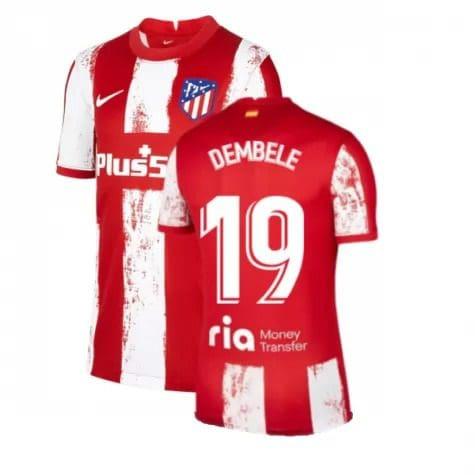 Футболка Дембеле 19 Атлетико Мадрид 2021-2022
