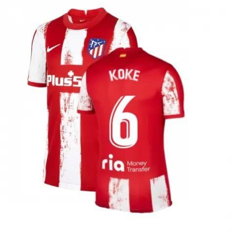 Футболка Коке 6 Атлетико Мадрид 2021-2022
