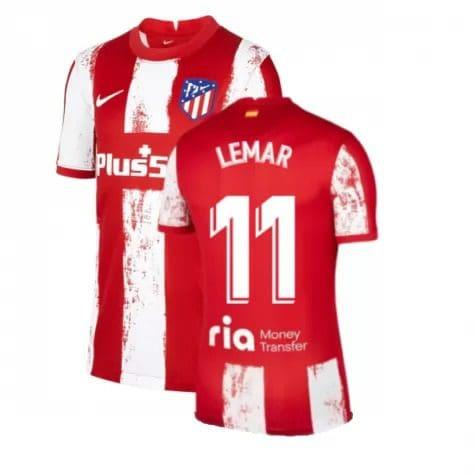 Футболка Лемар 11 Атлетико Мадрид 2021-2022
