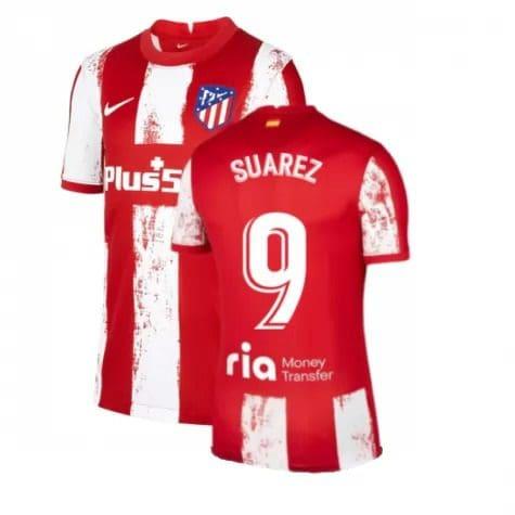 Футболка Суарес 9 Атлетико Мадрид 2021-2022