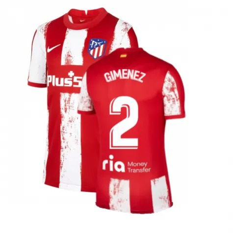 Футболка Хименес 2 Атлетико Мадрид 2021-2022