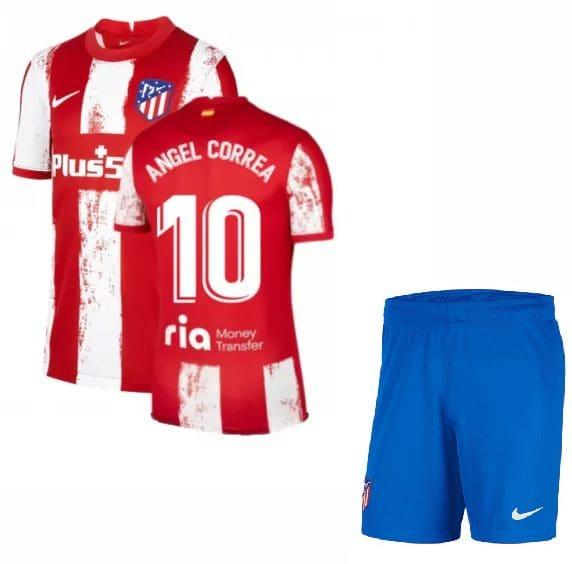 Футбольная форма Анхель Корреа 10 Атлетико Мадрид 2021-2022