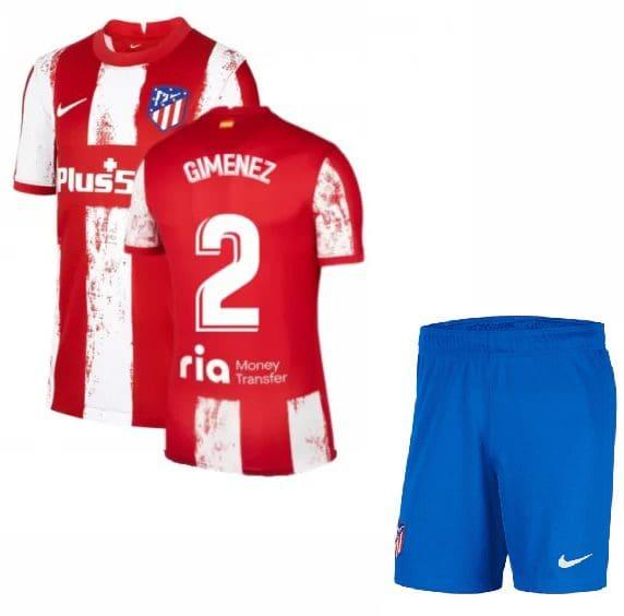 Футбольная форма Хименес 2 Атлетико Мадрид 2021-2022