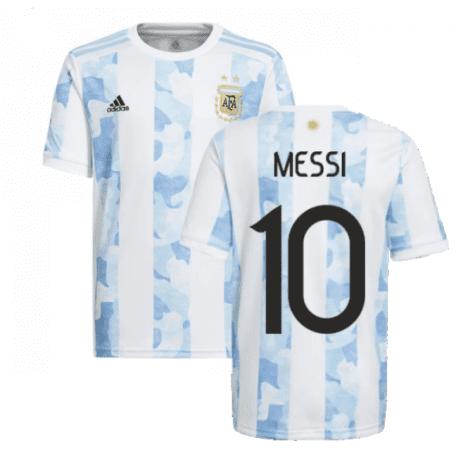 Футболка сборной Аргентины 2021 Месси