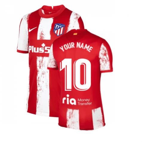 Футболка Атлетико Мадрид 2021-2022 с Вашим именем и номером