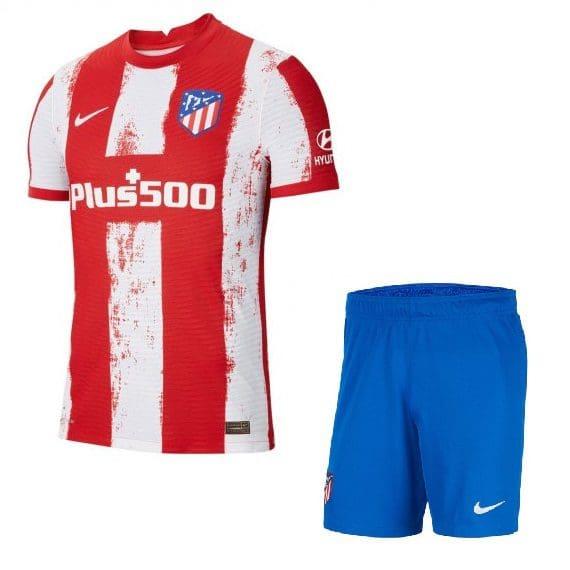 Футбольная форма Атлетико Мадрид 2022 с именем и номером КУПИТЬ