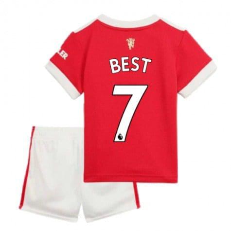 Детская форма Манчестер Юнайтед 2021-2022 Бест 7 купить