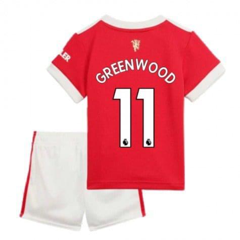 Детская форма Манчестер Юнайтед 2021-2022 Гринвуд 11 купить