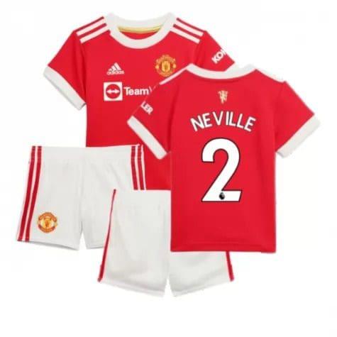 Детская форма Манчестер Юнайтед 2021-2022 Невилл 2