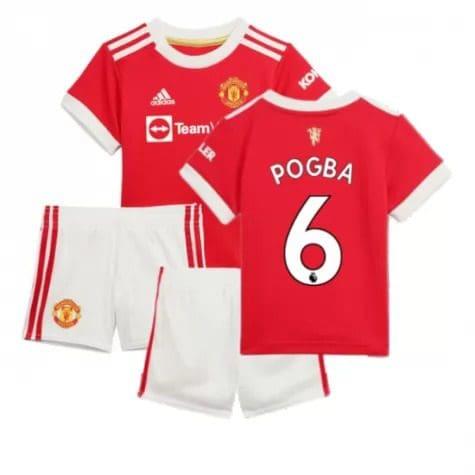 Детская форма Манчестер Юнайтед 2021-2022 Погба 6