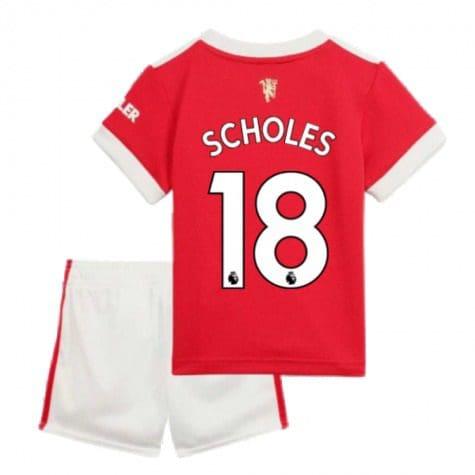 Детская форма Манчестер Юнайтед 2021-2022 Скоулз 18 купить