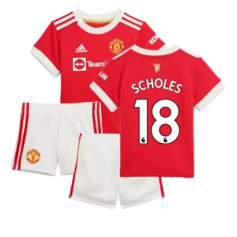 Детская форма Манчестер Юнайтед 2021-2022 Скоулз 18