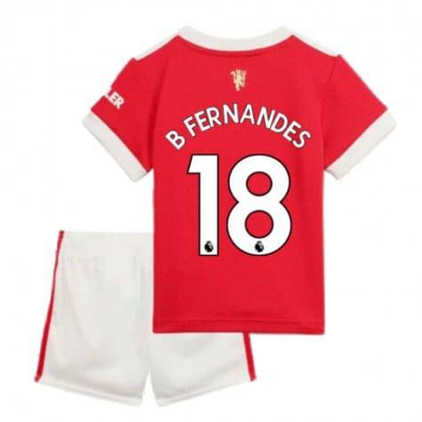Детская форма Манчестер Юнайтед 2021-2022 Фернандеш 18 купить