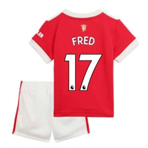 Детская форма Манчестер Юнайтед 2021-2022 Фред 17 купить