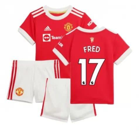 Детская форма Манчестер Юнайтед 2021-2022 Фред 17