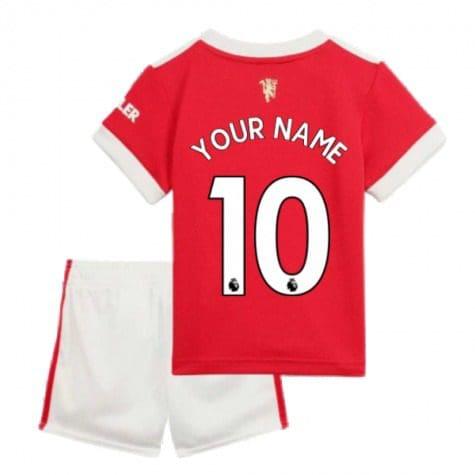 Детская форма Манчестер Юнайтед 2021-2022 с вашей фамилией и номером заказать