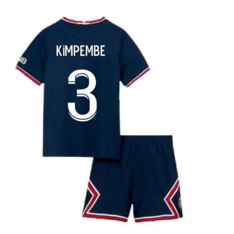Детская форма ПСЖ 2021-2022 Кимпембе 3