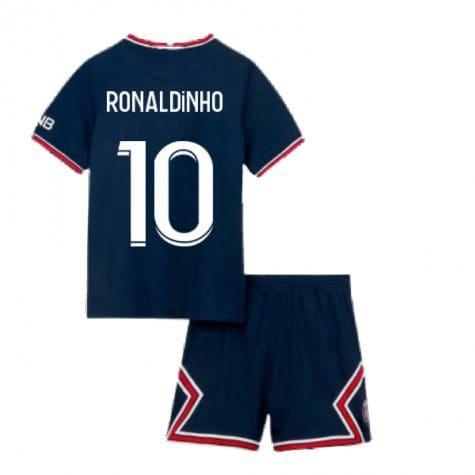 Детская форма ПСЖ 2021-2022 Роналдиньо 10