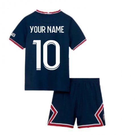 Детская форма ПСЖ 2021-2022 с вашей фамилией и номером