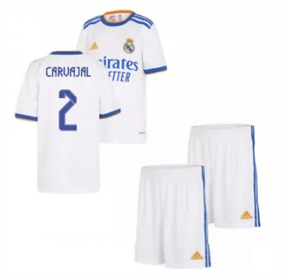 Детская форма Реал Мадрид 2021-2022 Карвахаль 2