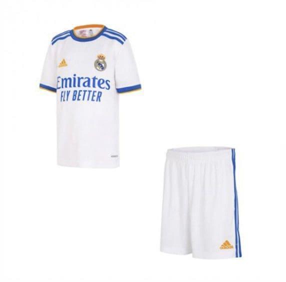 Детская форма Реал Мадрид 2021-2022 Р Карлос 3