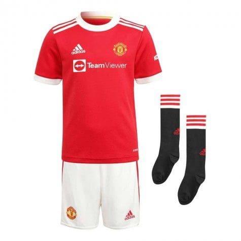 Детская футбольная форма Манчестер Юнайтед 2021-2022 с гетрами