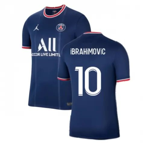 Футболка Ибрагимович 10 ПСЖ 2021-2022