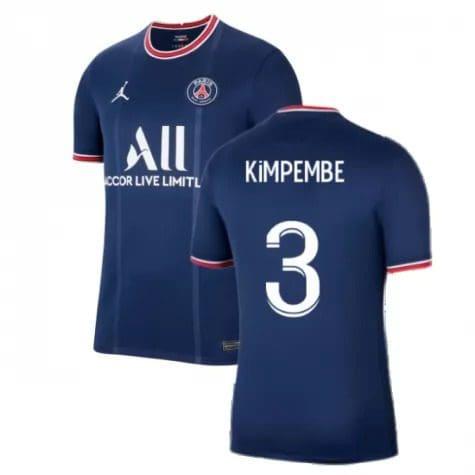 Футболка Кимпембе 3 ПСЖ 2021-2022