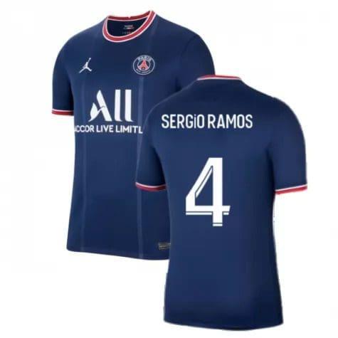 Футболка Серхио Рамос 4 ПСЖ 2021-2022