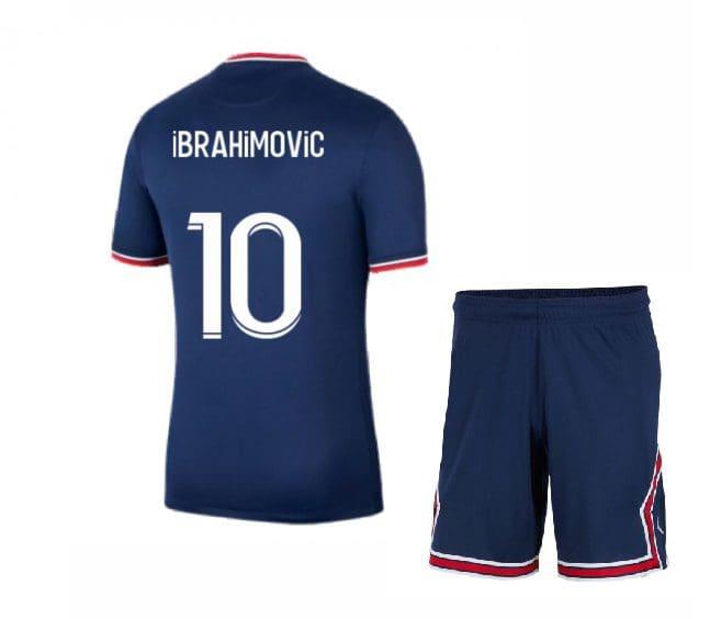 Футбольная форма Ибрагимович 10 ПСЖ 2021-2022