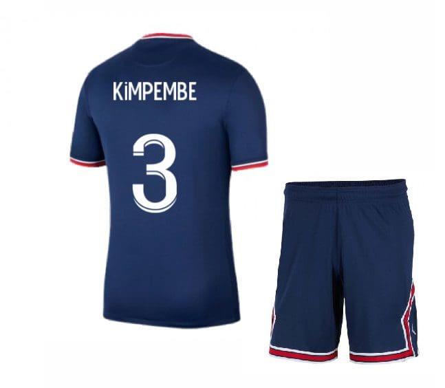 Футбольная форма Кимпембе 3 ПСЖ 2021-2022