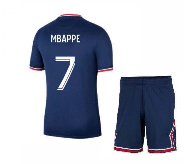 Футбольная форма Мбаппе 7 ПСЖ 2021-2022