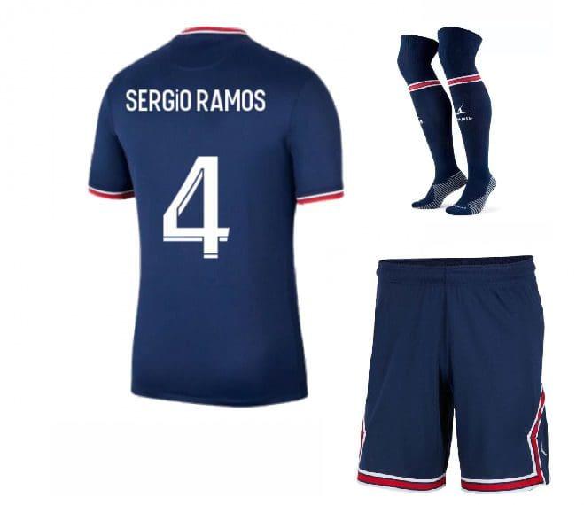 Футбольная форма Серхио Рамос 4 ПСЖ 2022 с гетрами