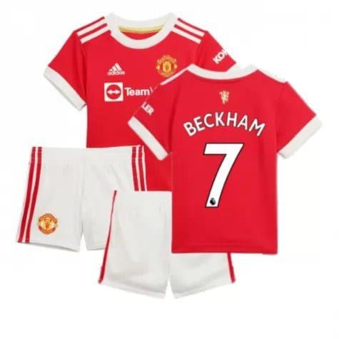 етская форма Манчестер Юнайтед 2021-2022 Бекхэм 7