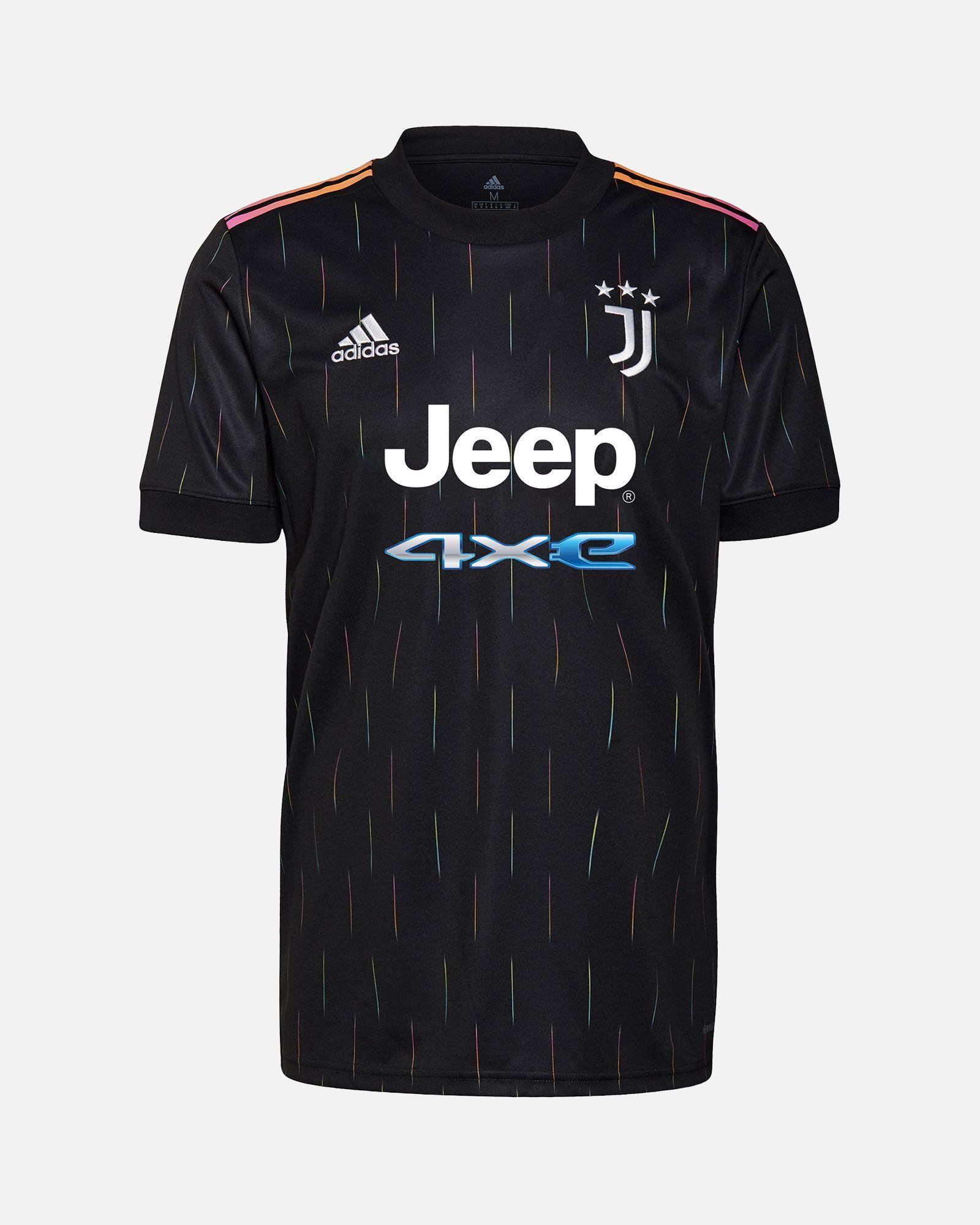 Чёрная футболка Ювентус 2021-2022