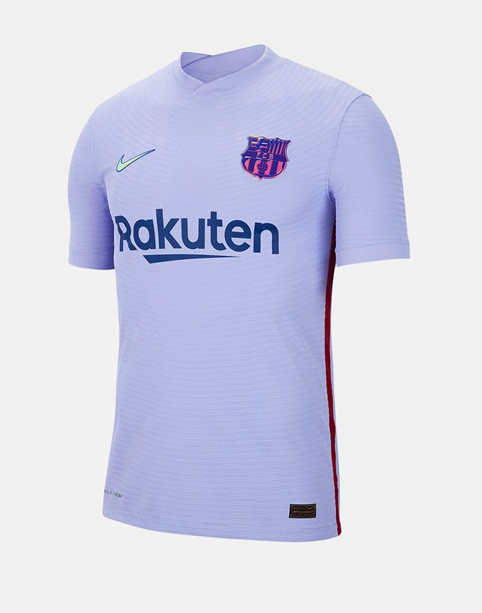 Гостевая футболка Барселоны 2022