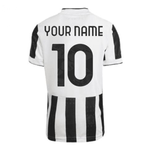 Футболка Ювентус 2021-2022 с Вашим именем и номером