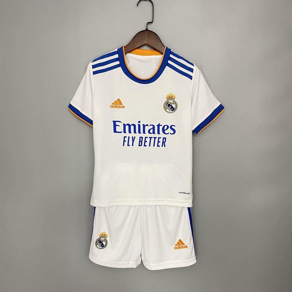 Детская футбольная форма Реал Мадрид 2021-2022