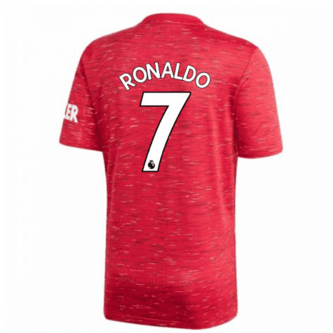 Красная футболка Роналдо Манчестер Юнайтед 2020-2021