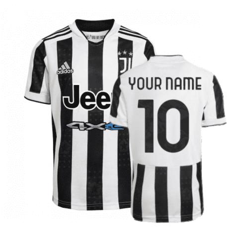 Футболка Ювентус 2021-2022 с Вашим именем и номером regbnm